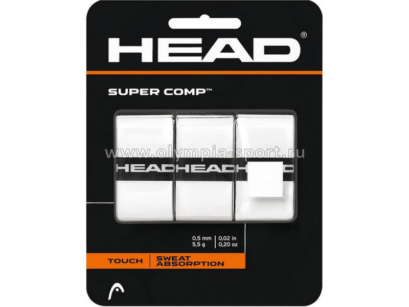 Намотки тонкие Head Super Comp (бел) 285088