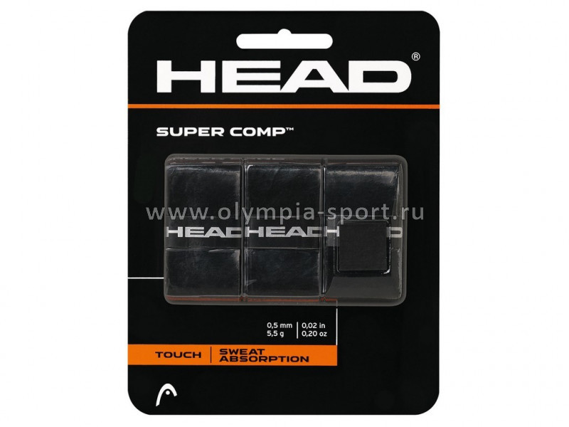 Намотки тонкие Head Super Comp (черн) 285088
