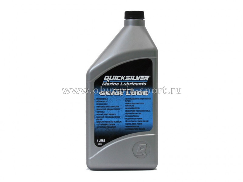 Масло трансмис. QuickSilver Premium Gear Lube (1 л.)