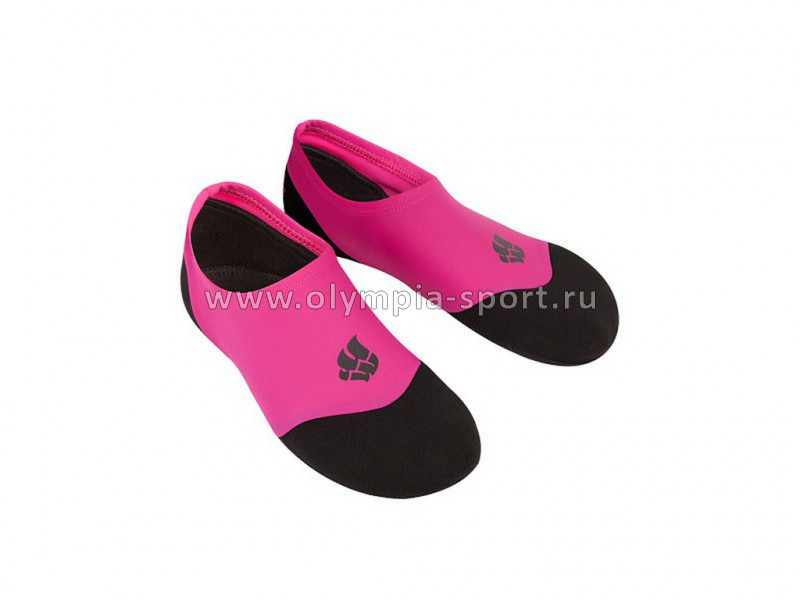 Носки Mad Wave SPLASH, жен. 38-39, Pink/black
