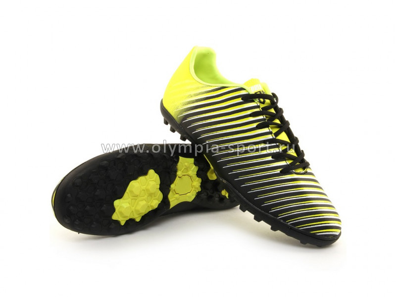 Бутсы Furia Turf 504A18 lime/black,39