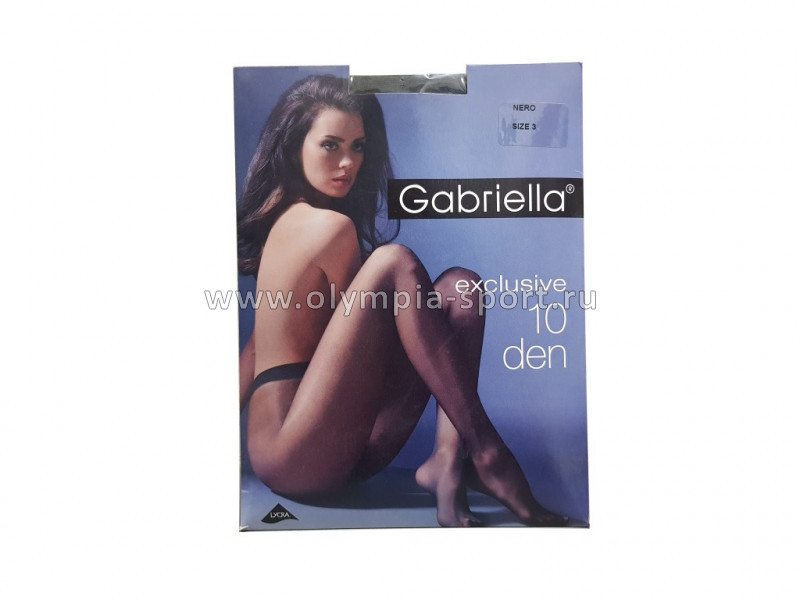 Колготки Gabriella EXCLUSIVE 10 DEN N101 nero